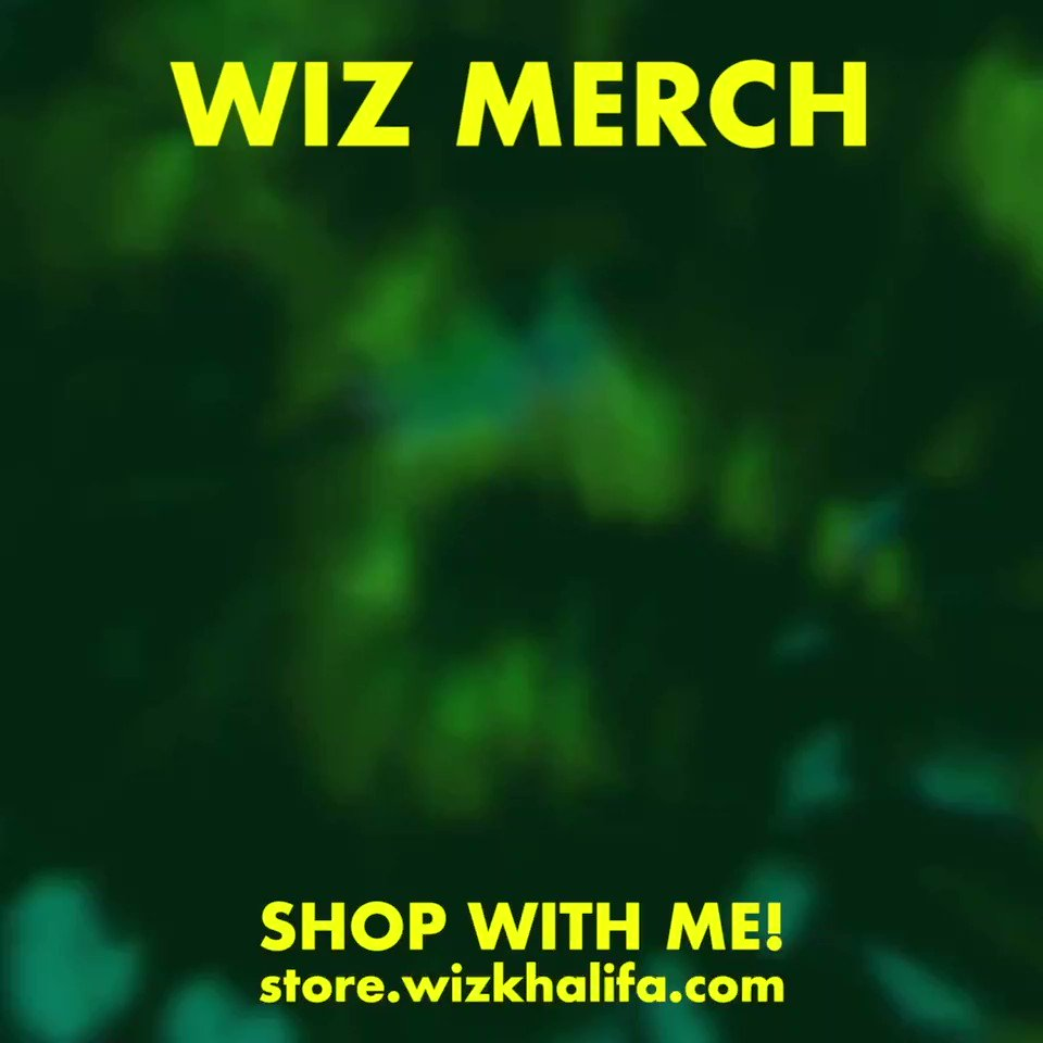 Replying to @wizkhalifa: Grab some merch at