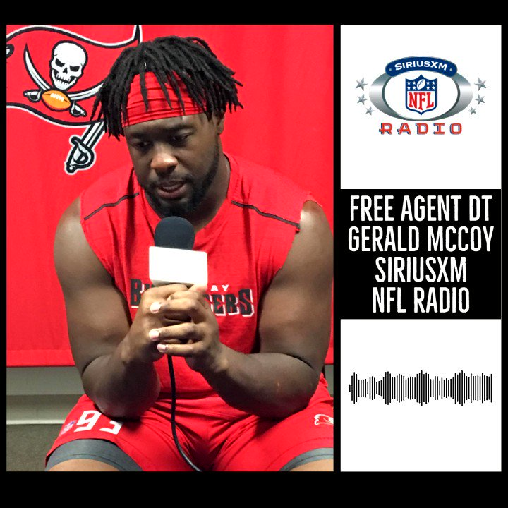 """""""I would love to go back to Tampa.""""  Free Agent DT @Geraldini93 on his recovery from the injury last year and how he would embrace a return to the @Buccaneers.   #Buccaneers 