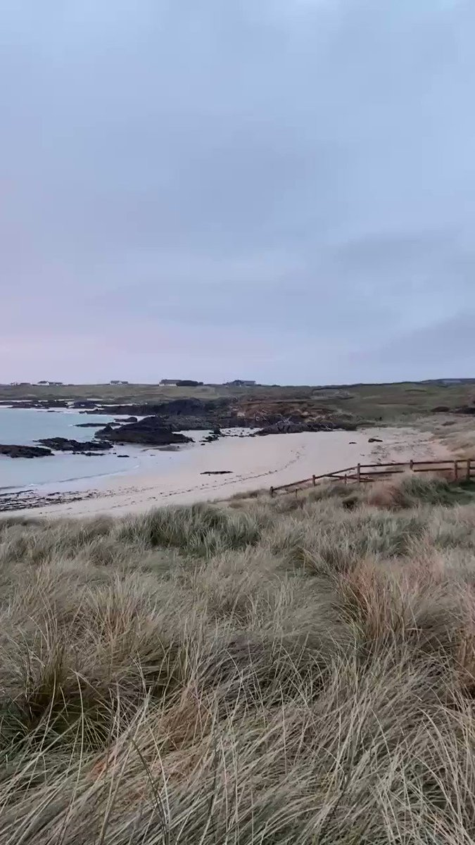 """Sunset heaven on the edge of Connemara's Wild Atlantic Way"" 🏖🐬  #clifden #connemara #beach #clifdencamping #clifdencampsite #ecobeach #lovethebeach #dublin #ireland #photooftheday #skyroad #WildAtlanticWay #travelireland  #omeyisland @Camping_Ireland @wildatlanticway #skyroad"