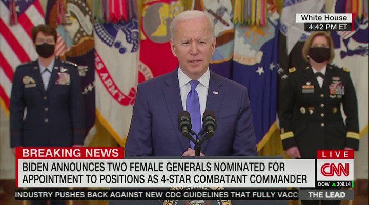 "NEW - Biden: ""The guy who runs this outfit over there."""