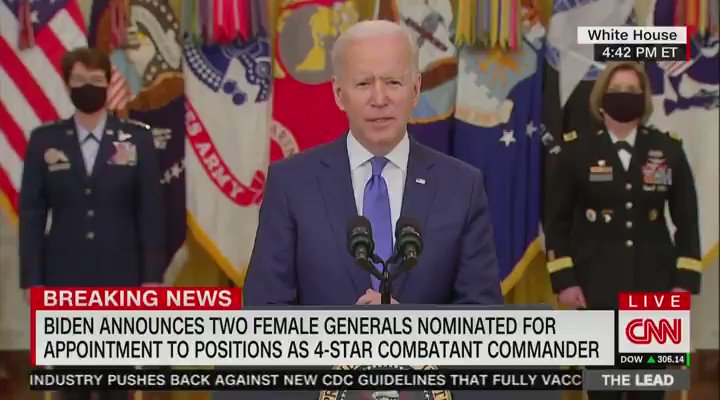 """Pres. Biden appears to forget the name of the Pentagon and the name of the Secretary of Defense, Lloyd Austin:   """"I want to thank the — former general...the guy who runs that outfit over there. I want to make sure we thank the Secretary."""""""