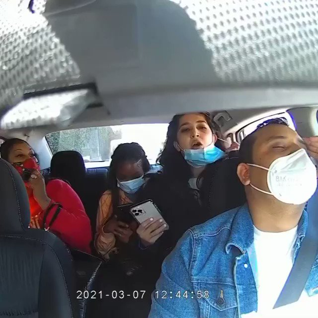 Anti-maskers in California physically assault and cough on an Uber driver