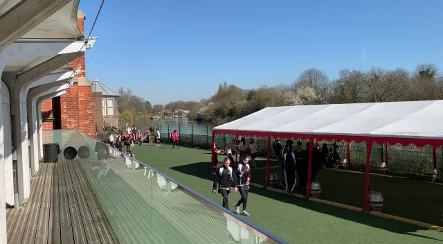 Students at Radnor House Twickenham are back at school!
