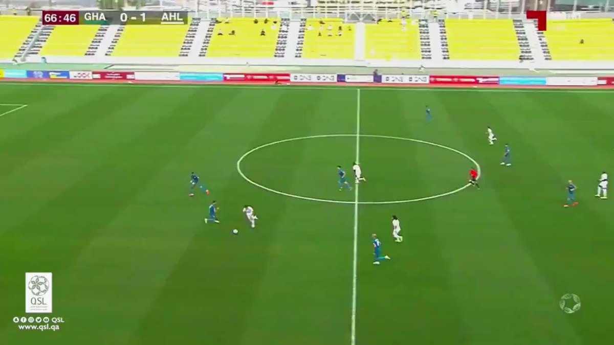 فيديو هدف الأهلي الثاني عن طريق اللاعب عبدالرشيد ابراهيم الغرافة 0 2 الأهلي
