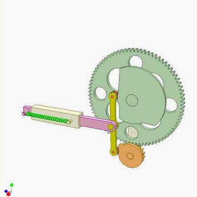 Cam and Gear Mechanism
