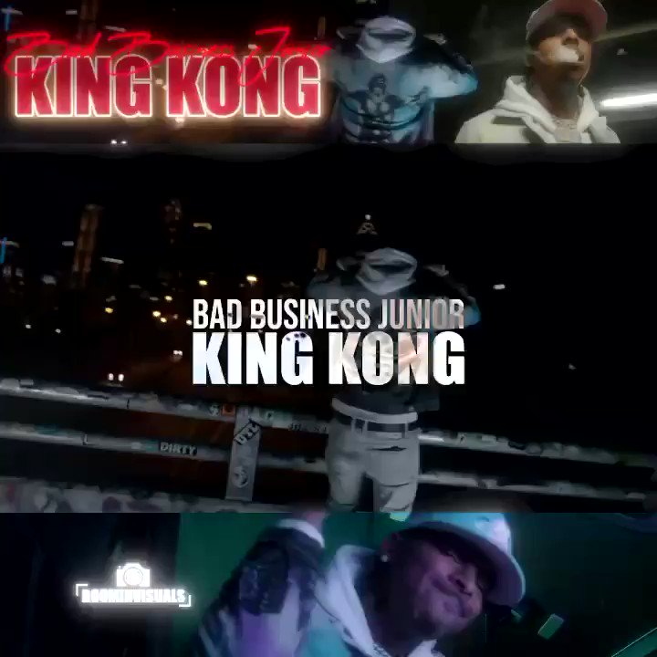 🦍🦍🦍🦍🦍🦍 BadBusiness ❌ @cultdenim ✖️✖️ 🔥🔥🔥 #KINGKONG OUT NOW!!! Link in the bio🎯💯 🎥 @Iroc_Boomin 🔥💪🏽🤯 All ⛽️ no brakes 🏴🏴‍☠️☠️ #BBG #PMG prod: @SQUATBEATS ☠️🏴‍☠️🔥