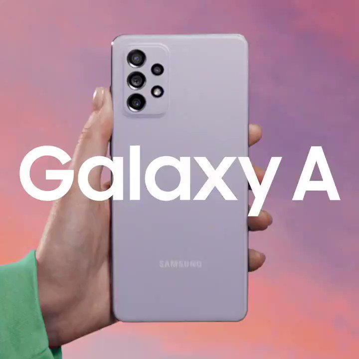 Image for the Tweet beginning: The new Galaxy A has