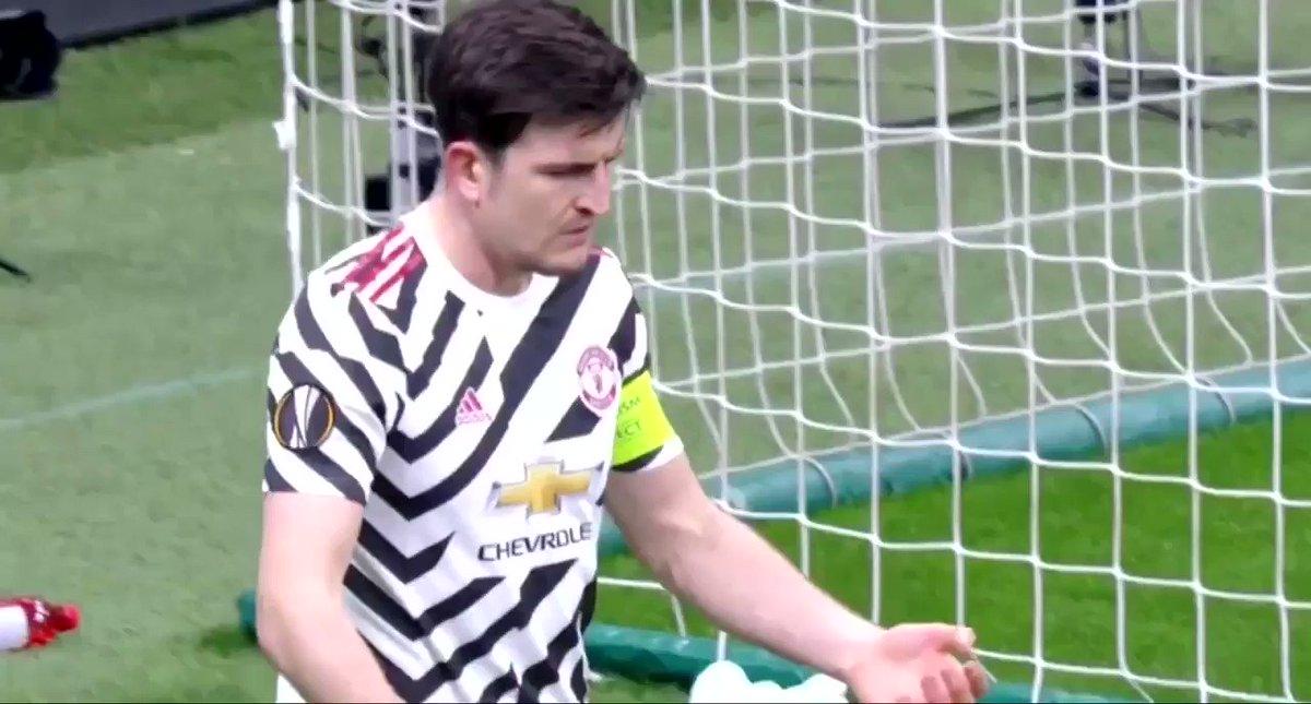 Harry Maguire vs Milan https://t.co/TqJngOi4v5