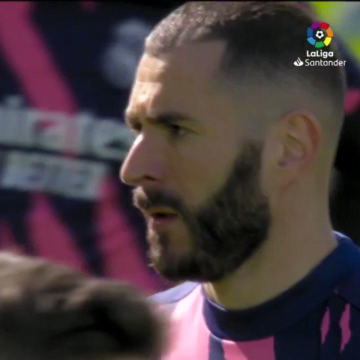 #RealMadridGetafe ⚽️ #RealMadridValencia ⚽️  #AtletiRealMadrid ⚽️ #RealMadridElche ⚽️⚽️ #CeltaRealMadrid ⁉️  Will @Benzema's goalscoring run continue today? 🔥