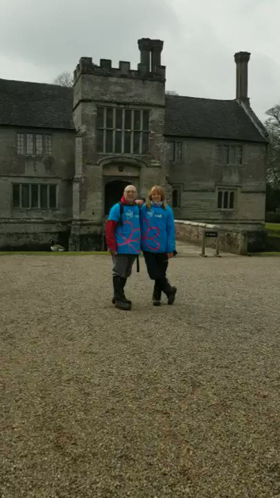 Image for the Tweet beginning: We've arrived at Baddesley Clinton