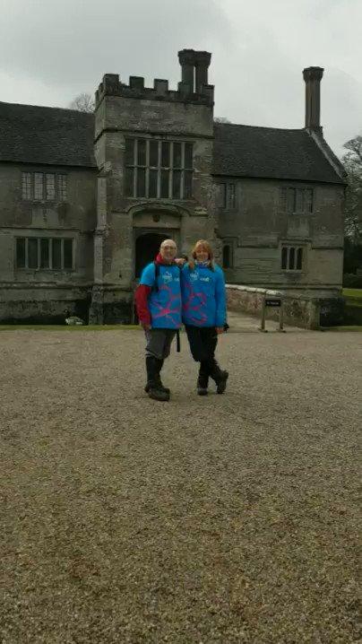 Image for the Tweet beginning: We've arrived at Baddesley Clinton