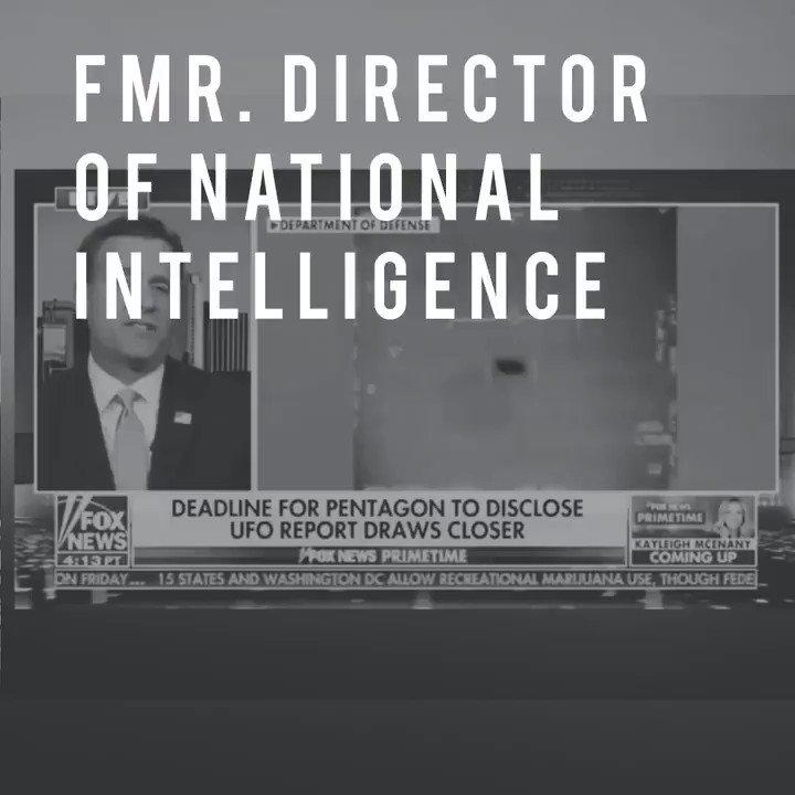 Image for the Tweet beginning: Fmr. Director of National Intelligence