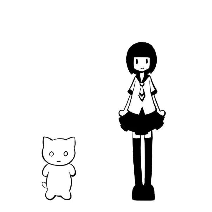 めっちゃかわいい動画できた #indie_anime