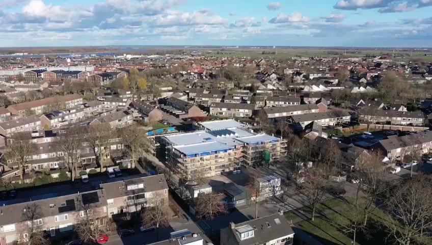 Image for the Tweet beginning: De #nieuwbouw van de Groenschool