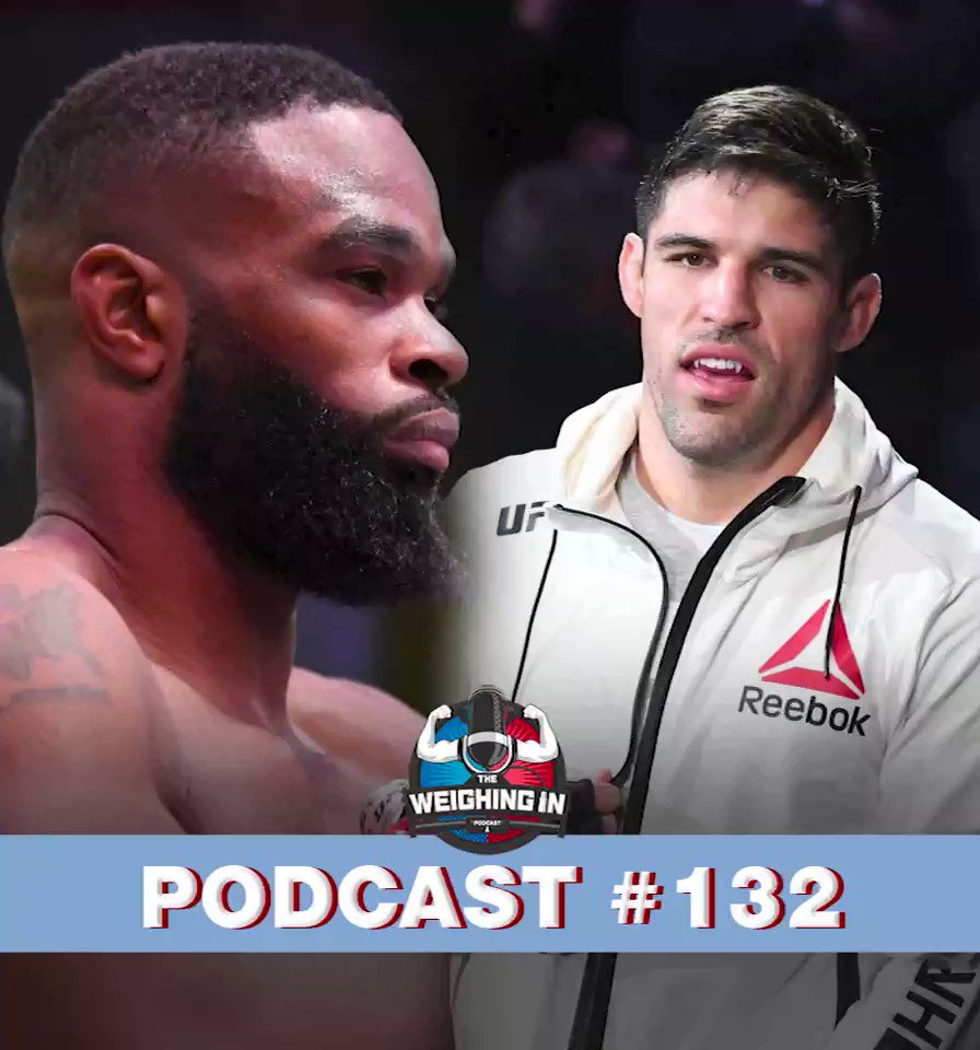 Can @TWooodley bring back that style his wrestling with his speed and power that made him champion or has the ground work been laid for @VicenteLuqueMMA to follow here: https://t.co/bgxbM3oiRC @WeighingIn podcast https://t.co/BizmoEnZi0