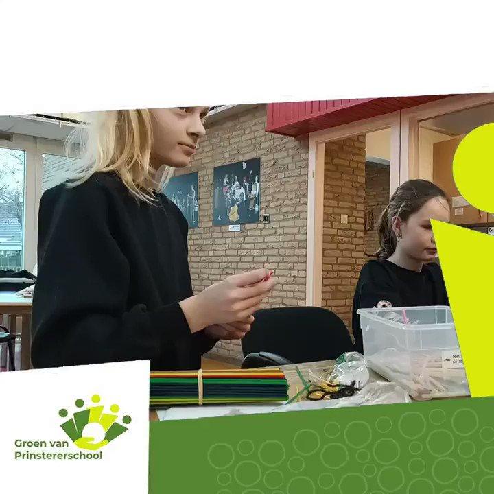 Image for the Tweet beginning: Ook dit is de Groenschool: