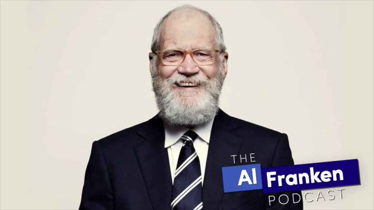 DAVID LETTERMAN joins me on The Al Franken Podcast. Here, I ask a brilliant question about his Netflix series, My Next Guest Needs No Introduction.  Subscribe on Amazon Music: