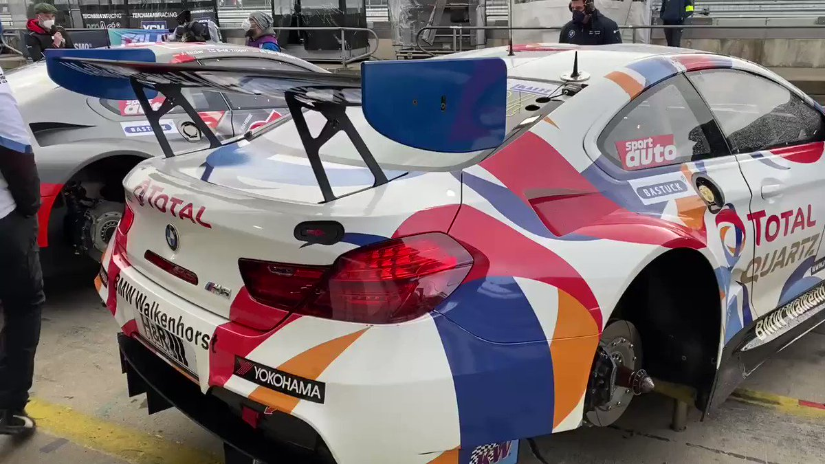 Good morning! Qualifying and Race day here at @nuerburgring @vln_de. @David_Pittard out in the car first...  @Walkenhorst_MS @BMWMotorsport @BRDCSuperStars