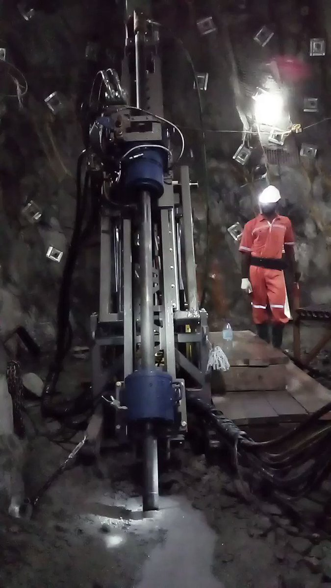 Image for the Tweet beginning: $LIO.V $LOMLF drill rig #5