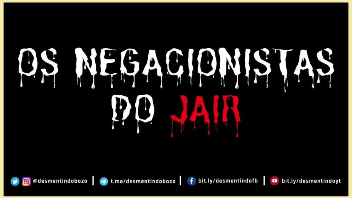 OS NEGACIONISTAS DO JAIR Estrelando: Osmar Terra - Lançamento Especial do #BolsonaroDay - 👉 Baixe o vídeo : https://t.co/rDFdLDqEst https://t.co/u5WAp4QX0l