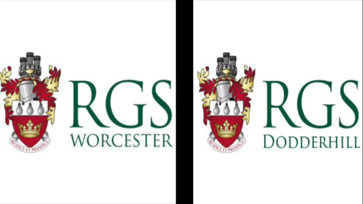 Image for the Tweet beginning: RGS Worcester and RGS Dodderhill