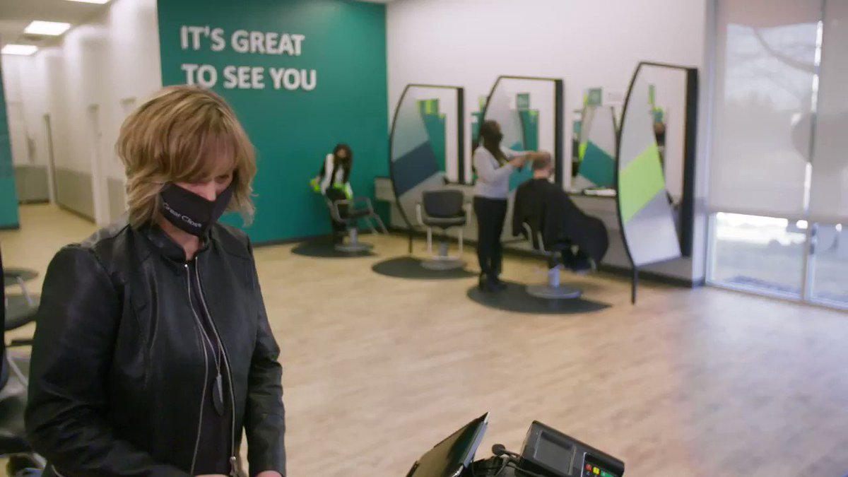 We might be biased, but we think hairstylists are a slam dunk 🏀💚 We want to thank each and every one of you for stepping in when we needed you most — from extra sanitizing to fixing our at-home haircut mistakes — thank you, stylists, for being so great. https://t.co/rm9sB5iCW0
