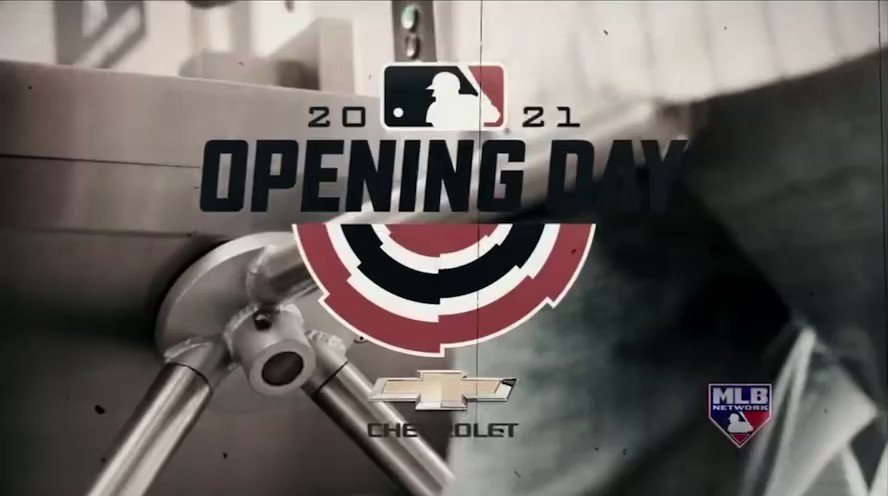 Opening Day!! @MLBNetwork 🤙🏾 #TakeMeOutToTheBallGame⚾️ https://t.co/kC1JkJCOij