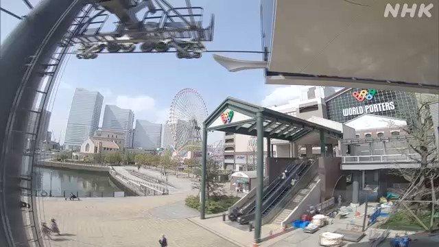 横浜市のみなとみらい地区で都市型ロープウェイが運行開始!