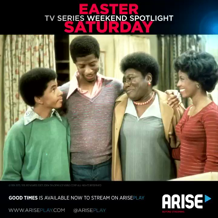 Original Good Times producer Norman Lear is teaming up with @SethMacFarlane of Family Guy fame, and NBA star @StephenCurry30 to bring the Evans family into today's world with an animated reboot. Watch the original TV Series exclusively now on #ARISEPlay.  https://t.co/1N0rA01cTE https://t.co/2ZXVnvrGOe