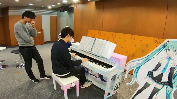 いちミクピアノなんかバズってて草【プロセカ】