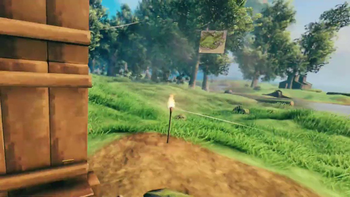 Check out a new native VR mod for Valheim, now available in beta: 80.lv/articles/valhe… #valheim #vr #virtualreality #games #3dart #indiegames #steam