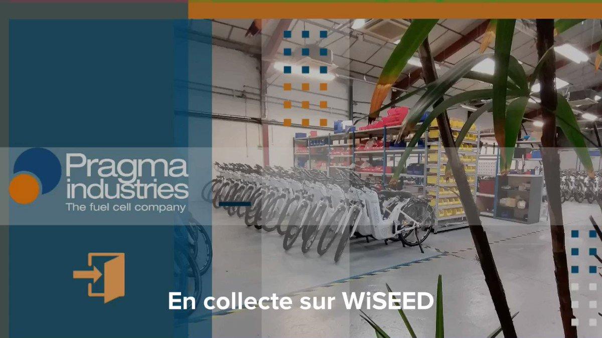 Pragma Industries en 1 minute chrono⏱️ @PragmaFuelCells en collecte sur @wiseed  #h2invest #hydrogène #h2now #h2bike #wiseed  https://t.co/PWh7EUBS2O