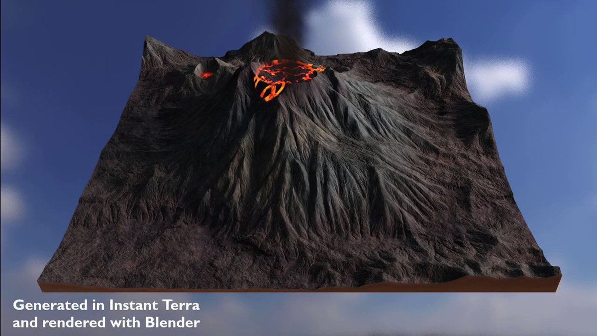 .@wysilabs Instant Terra 2.1 is now available allowing users to download real-world elevation data at more than 50 times better resolution than with the previous version: 80.lv/articles/insta… #instantterra #gamedev #3dart #proceduralart #3dmodeling #terrain
