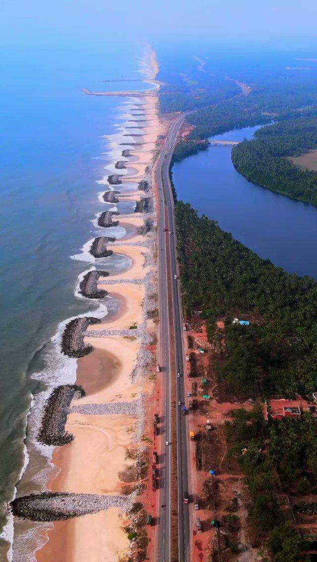 Thank you @adarshahgd for sharing this blissful reel of Maravanthe shoreline near Udupi, Karnataka! It is indeed a poetic translation of nature. #DekhoApnaDesh   @KarnatakaWorld