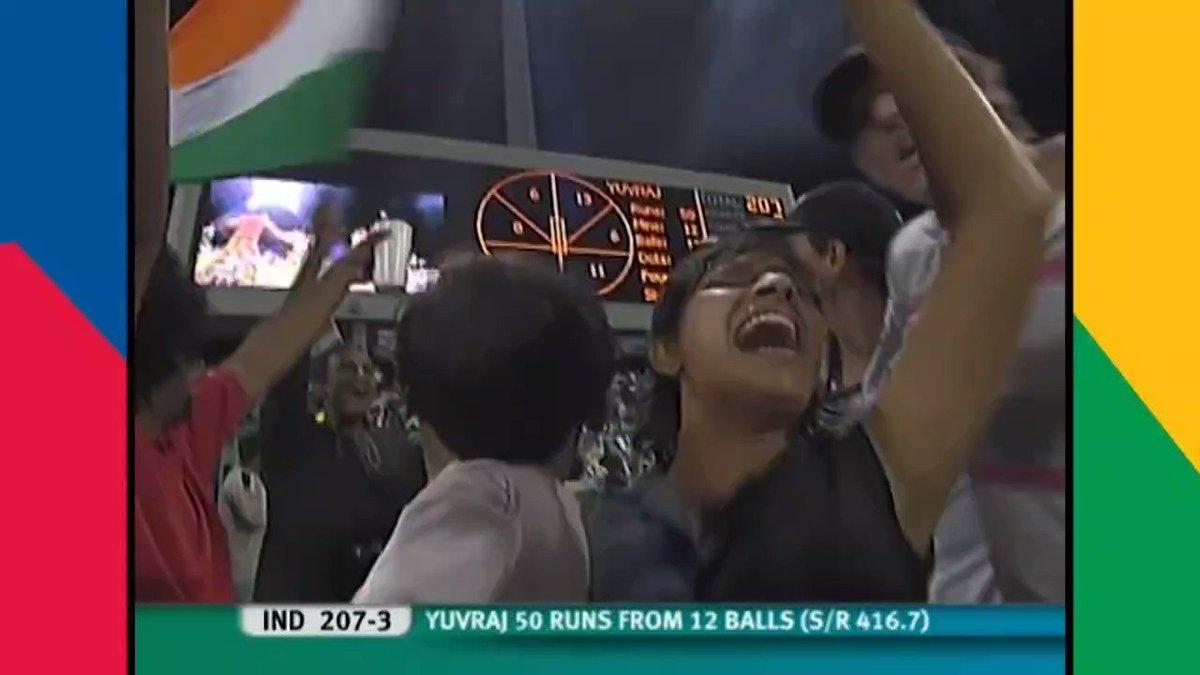 RT @iccworldcup2021: @ICC T20 WC 2007 INDIA @BCCI vs ENGLAND @englandcricket 6 Sixes Moment. https://t.co/NEC1HUciac