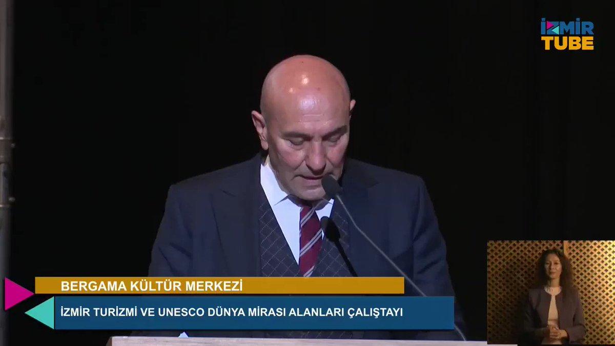 Image for the Tweet beginning: Bergama Kültür Merkezi'nde İzmir Turizmi