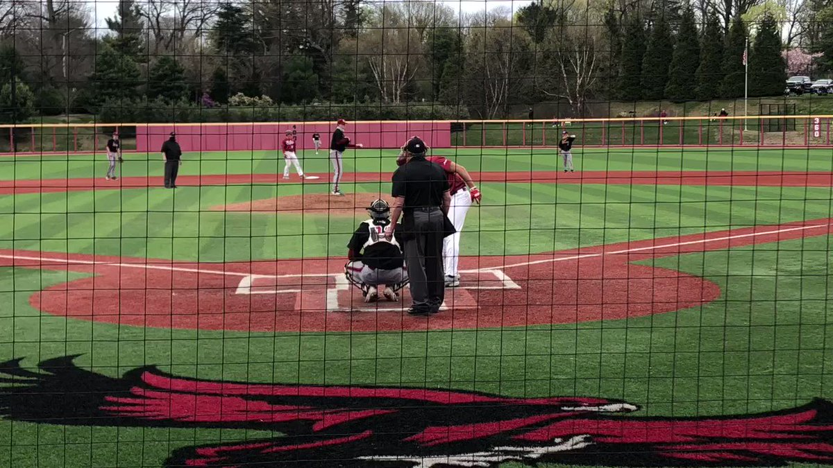 Here's the big fly to win the ballgame, courtesy of Mr. Vance! #THWND https://t.co/FFb6WTZ4fR