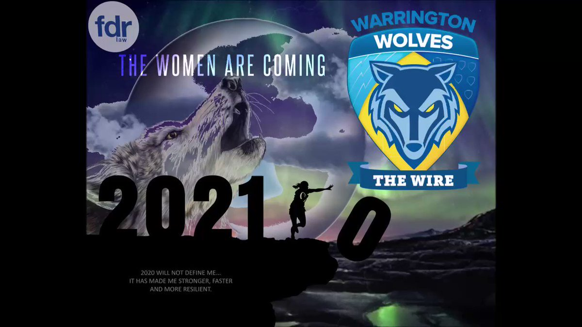 We're so excited for the start of our @SuperLeague campaign on 18th April for our @WarringtonRLFC Women's season and huge thanks to kit sponsor @FDR_Law 💛🏉💙