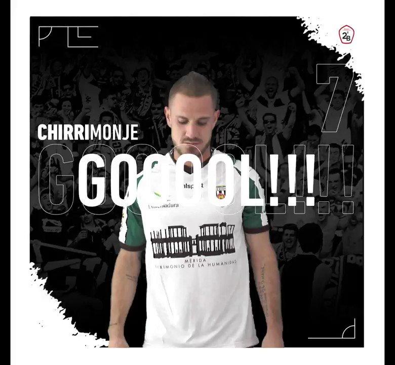 Gran gol de @chirrimonje          https://t.co/q39SWK6PMh