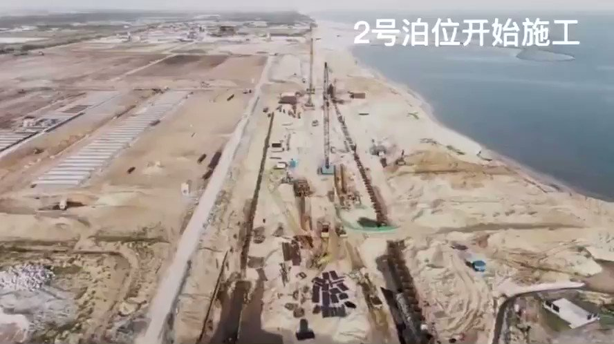 The pace of work for the Lekki deep sea port project has been very impressive since LPLEL  received the $221 million counterpart funding from China harbour engineering company (CHEC), I believe they are on track to deliver the 1st phase by first quarter of 2023 https://t.co/KcJ4P6lECV