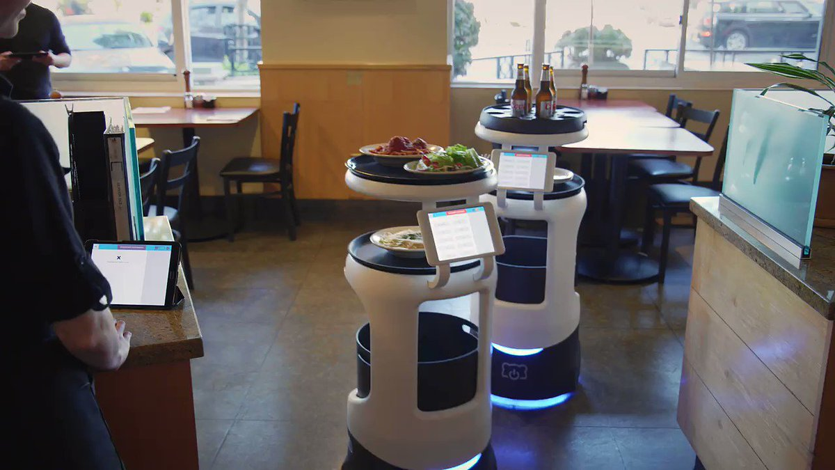 Autonomous Running & Bussing Robot #Automation #BasicIncome https://t.co/75B4JefNna