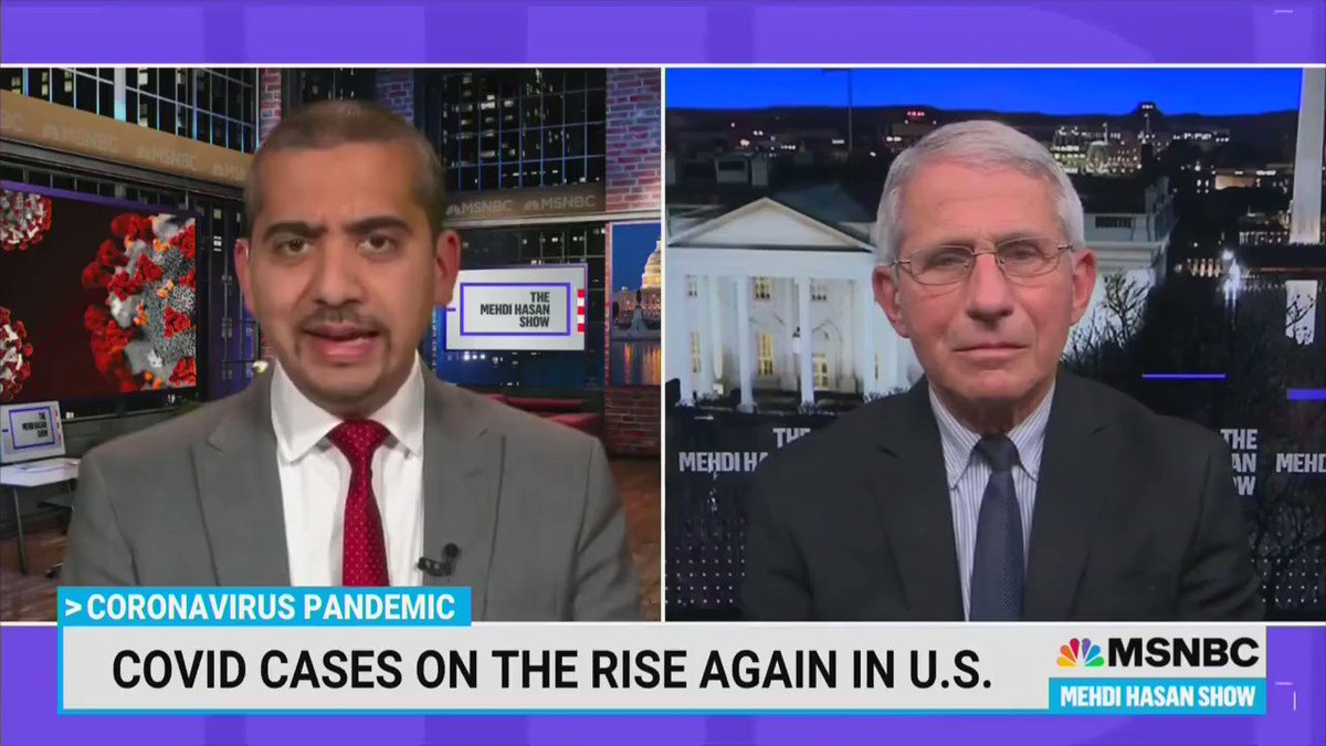 """Fauci continues to ignore 100 years of vaccine science.  His only real theme is """"do what I say"""" even when it makes no sense.    If you've recovered or been vaccinated - go about your life.  Eat, drink, work, open the schools.    Enough with the petty tyrants! https://t.co/HiZR9JRuTI"""