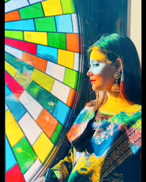 Replying to @1Neetuchandra: Taking in all the colors of life as they come through me ❤ #om