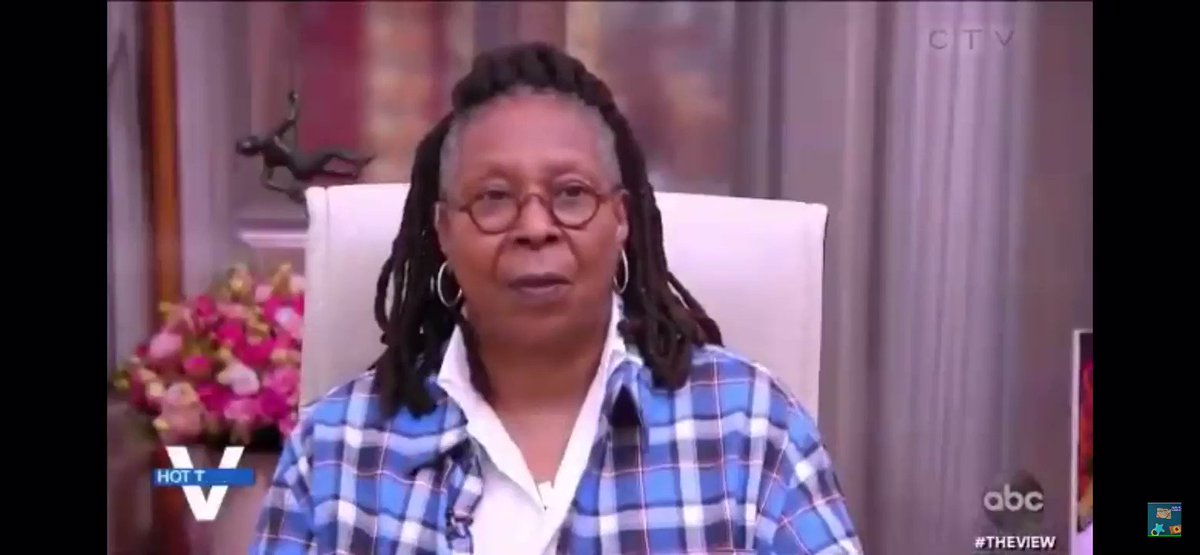 Image for the Tweet beginning: I couldn't agree more @WhoopiGoldberg!