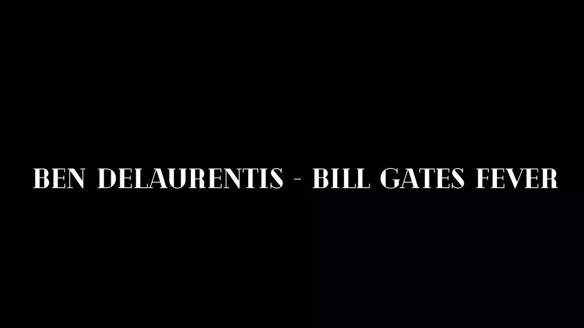 """Bill Gates Fever"" debuted on today's Infowars War Room, by @ben_delaurentis"