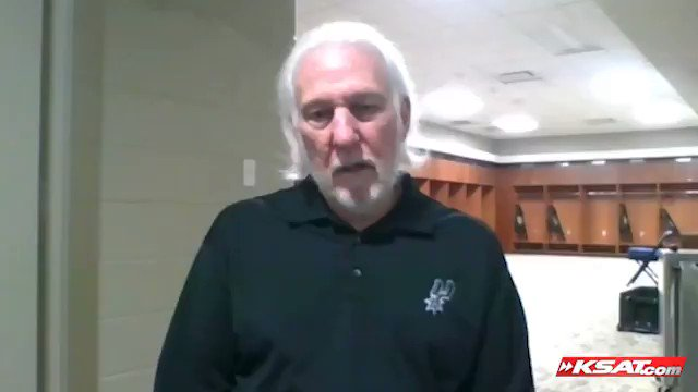 Spurs coach Gregg Popovich just gave an angry, emotional response when asked about fatal shooting of Daunte Wright by a police officer near Minneapolis. He talked guns, policing and blasted Gov. Greg Abbott. (Pt. 1) https://t.co/VVBr9hRzSw
