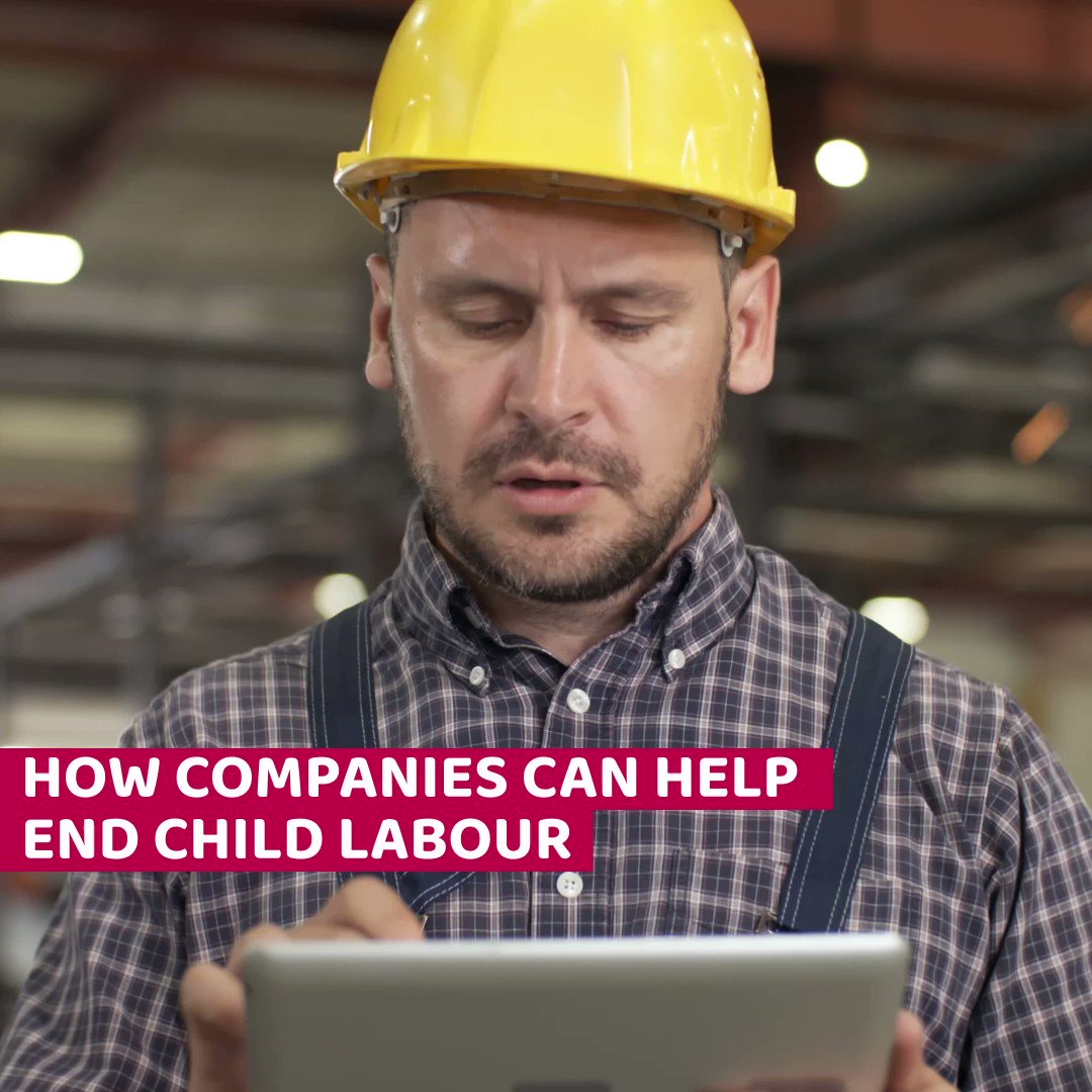 Your company has the power to help end child labour. This year, make a pledge to make a difference for children all over the world.   Start here: https://t.co/CaFDMAEjcS   #EndChildLabour2021 https://t.co/U6ivuAgzsy