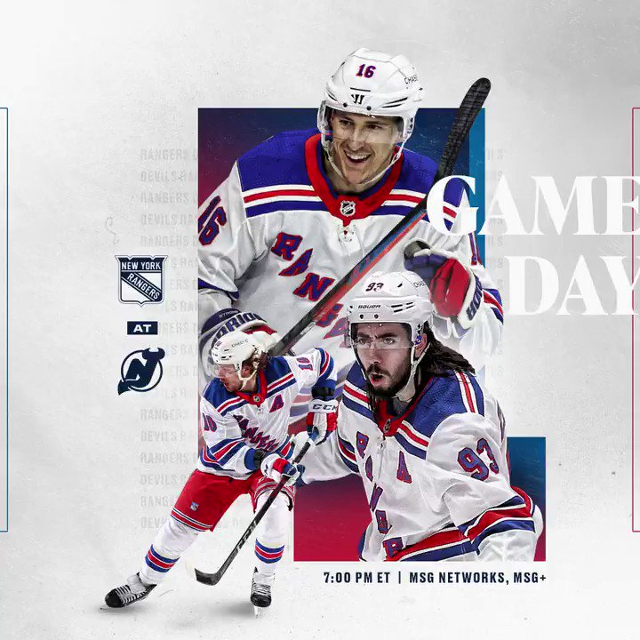 @NYRangers's photo on GAME DAY