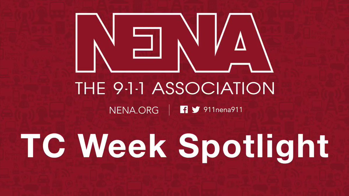 Image for the Tweet beginning: Happy TC Week from NENA!