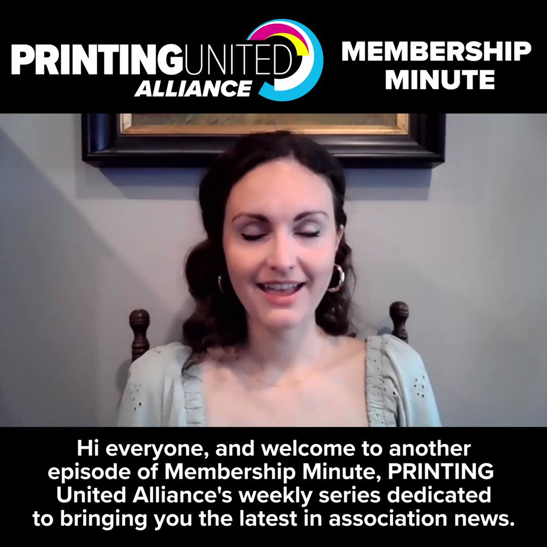 Image for the Tweet beginning: In this week's Membership Minute,